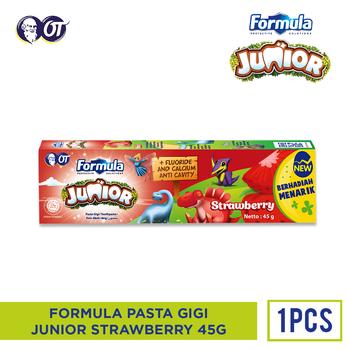 Formula Pasta Gigi Junior Strawberry 45 g harga terbaik 5000