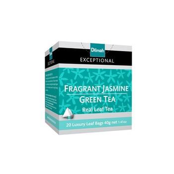 Dilmah Exceptional Fragrant Jasmine Green Tea (Leaf Tbag 20s)