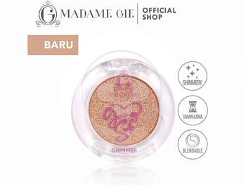 Madame Gie Going Solo Shimmery Pressed Eyeshadow 13 - Dazzler harga terbaik 16000
