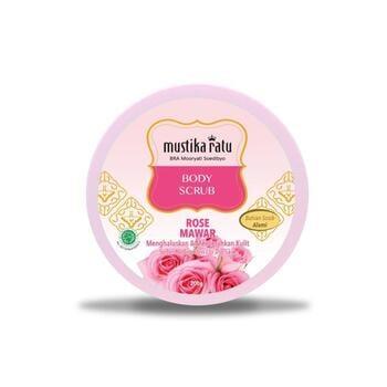 Mustika Ratu Body Scrub Rose 200 g harga terbaik 48000