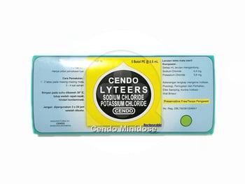 Cendo Lyteers Tetes Mata Minidose 5 X 0.6 mL harga terbaik 23995