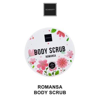 Body Scrub Scarlett Romansa Original Lulur 300 g
