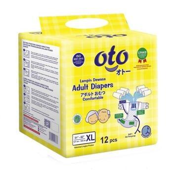 OTO Adult Diapers / Popok Dewasa Model Perekat - XL  harga terbaik 85500