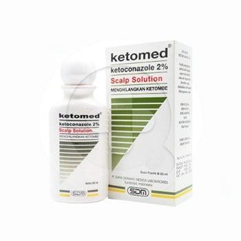 Ketomed 2 % larutan 60 ml merupakan obat untuk mengobati dermatitis seboroik ringan, dan ketombe.
