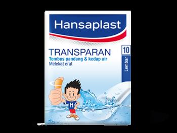 Hansaplast Transparan Standar (10 Pcs) HAPUS
