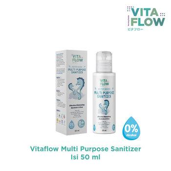 VITAFLOW Multi Purpose Sanitizer 50 mL harga terbaik 45000
