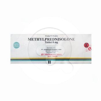 Methylprednisolone Guardian Tablet 8 mg  harga terbaik