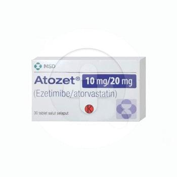 Atozet tablet adalah obat untuk menurunkan kolesterol jahat dan meningkatkan kolesterol baik.