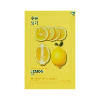 Holika Holika Pure Essence Mask Sheet - Lemon harga terbaik 22000