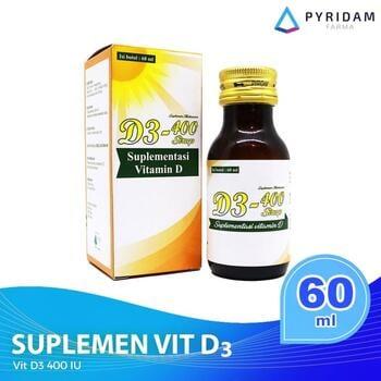 D3-400 Sirup 60 ml - Vitamin D3