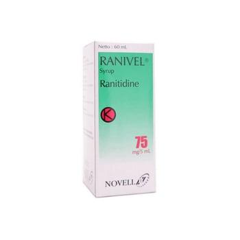 Ranivel sirup adalah obat untuk mengatasi penyakit yang disebabkan naiknya asam lambung