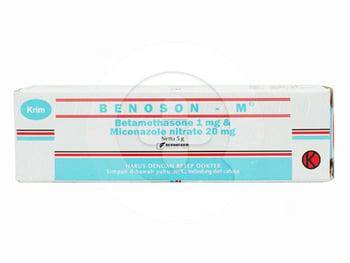 Benoson M Krim 5 g harga terbaik 66055