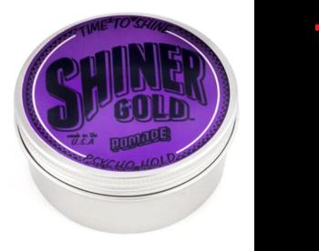Minyak rambut pomade Shiner Gold Pomade Psycho Hold 113 g