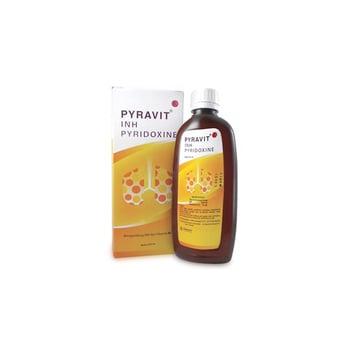 Pyravit Sirup adalah obat untuk terapi dan pencegahan tuberkulosis yang menyerang organ paru-paru