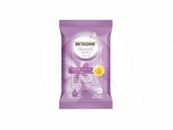Betadine Feminine Wipes Gentle Protection Immortelle 10 Sheets harga terbaik
