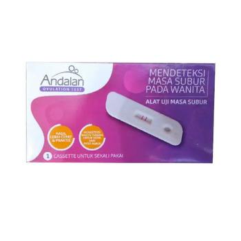 Andalan Ovulation Test adalah alat yang digunakan untuk menguji kesuburan pada wanita