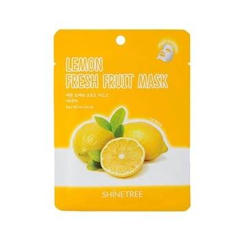 Shinetree Lemon Fresh Fruit Mask Sheet 23 g harga terbaik 12900
