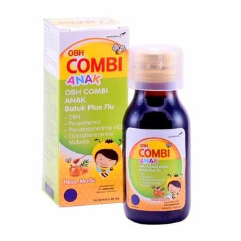 OBH Combi Anak Batuk Plus Flu Rasa Madu Sirup 60 mL harga terbaik 12727