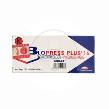 Blopress Plus adalah obat untuk mengobati penyakit hipertensi