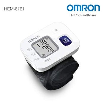 Omron Tensimeter Wrist Blood Pressure Monitor HEM-6161 harga terbaik 727900