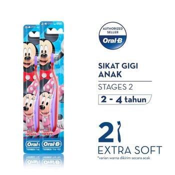 Oral-B Sikat Gigi Anak Stages 2 Mickey  harga terbaik 37400