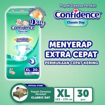 Confidence Popok Dewasa Classic Day XL 30 harga terbaik