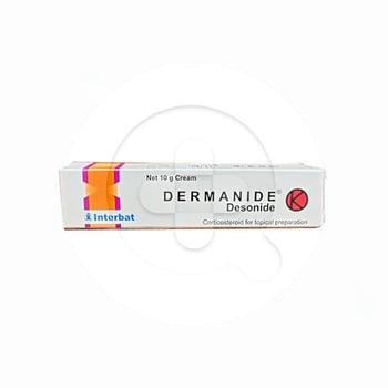Dermanide krim digunakan untuk mengatasi peradangan (antiinfamasi), alergi, dan gatal.