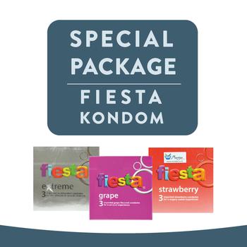 Fiesta Kondom Series Package harga terbaik