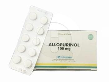 Allopurinol Bernofarm Tablet 100 mg (1 Strip @ 10 Tablet)