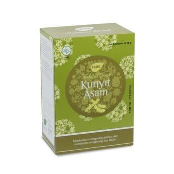 Jamu IBOE - 1 Box IBOE Natural Drink Kunyit Asam 5 Sachet harga terbaik 12000