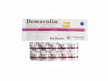 Demacolin tablet adalah obat untuk mengatasi gejala flu seperti hidung tersumbat dan demam