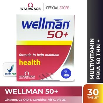 Vitabiotics Wellman 50+ Tablet  harga terbaik 269000