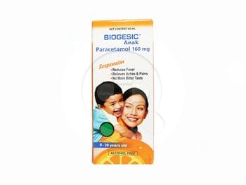 Biogesic Anak Sirup 60 mL harga terbaik 34568
