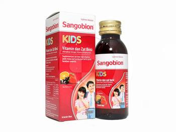 Sangobion Kids Sirup 100 mL harga terbaik 31526