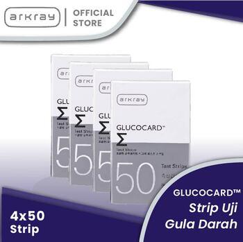 Glucocard Sigma Test Strips INT-general  harga terbaik 899000