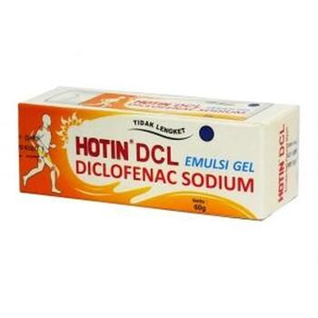 Hot in DCL adalah emulsi gel yang dapat meradakan nyeri