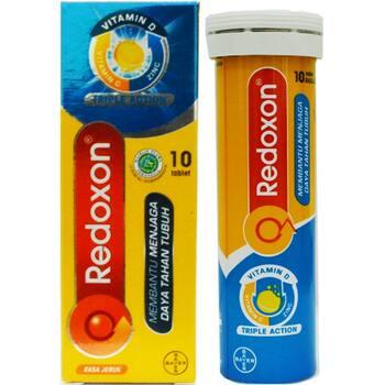 Redoxon Triple Action Tablet Effervescent  harga terbaik 44000