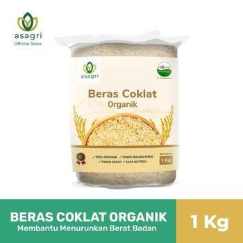 Asagri Beras Coklat Organik 1 Kg harga terbaik 34000