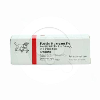Fucidin krim adalah obat untuk infeksi kulit yang disebabkan oleh bakteri