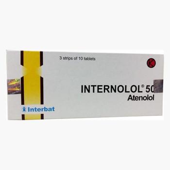 Internolol tablet adalah obat untuk mengatasi hipertensi, angina, dan serangan jantung