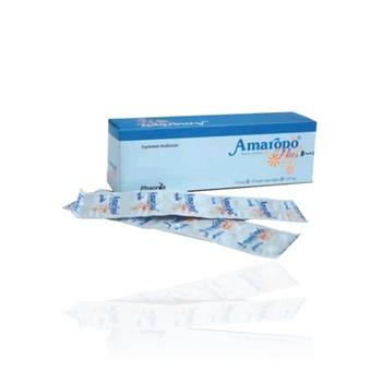 Amaropo plus kaplet adalah suplemen untuk memelihara kesehatan.