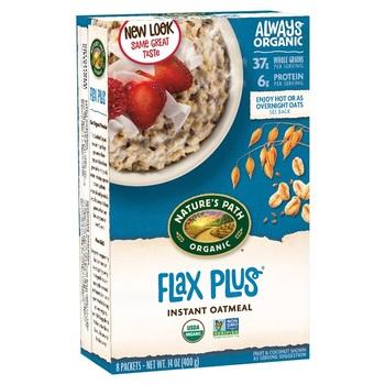 Nature's Path Organic Instant Oatmeal-Flax Plus 400 g harga terbaik 67450