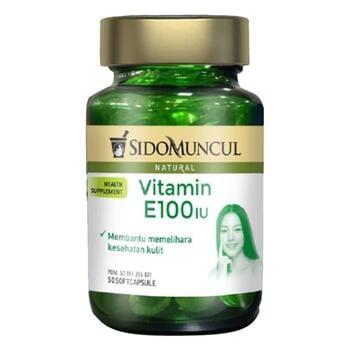 Sido Muncul Natural Vitamin E 100 IU Soft Capsule  harga terbaik 92000