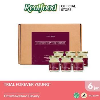 Realfood Trial Program Forever Young + Fully Concentrated Bird's Nest dengan Kolagen harga terbaik