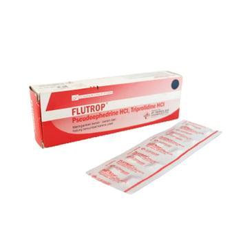 Flutrop kaplet adalah obat untuk mengatasi rhinitis alergi dan melegakan hidung tersumbat.