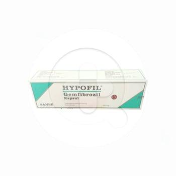 Hypofil Kapsul adalah obat untuk mengatasi kadar kolesterol tinggi, kadar trigliserida tinggi.
