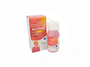 Actifed Plus Cough Suppressant sirup adalah obat untuk meringankan pilek dan batuk kering