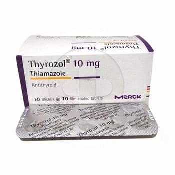 Thyrozol tablet adalah obat untuk mengatasi produksi kelenjar tiroid berlebihan