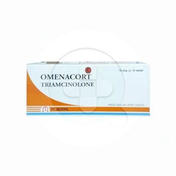 Omenacorttablet adalah obat untuk mengatasi alergi dan peradangan