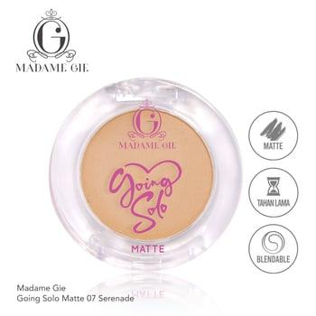 Madame Gie Going Solo Matte Pressed Eyeshadow 07 - Serenade harga terbaik 16000